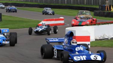 Jackie Stewart leads