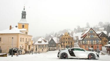 Audi R8 GT in Germany - profile static