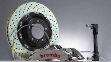 Nissan GT-R Brembo brake kit