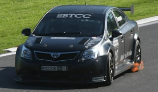 Toyota Avensis BTCC racing car