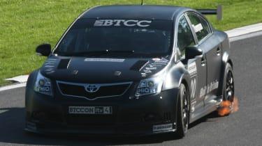 Toyota Avensis BTCC racing car