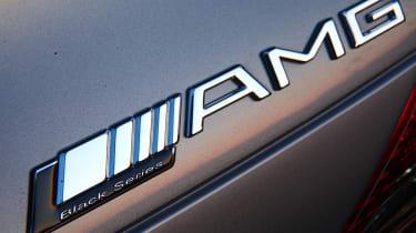 Mercedes AMG SL65 Black