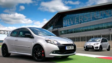 Renaultsport Twingo and Clio Silverstone GP limited editions
