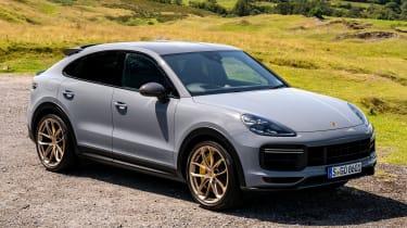 Porsche Cayenne Coupe Turbo GT – front quarter static