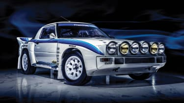 Mazda RX-7 Evo Group B Works - front 3.4