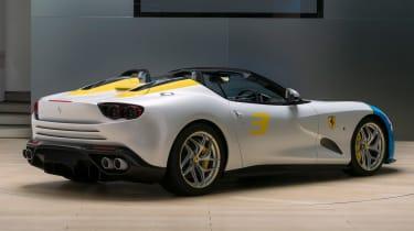 Ferrari SP3JC rear