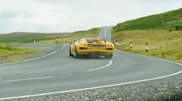 Lamborghini V12 group test Wales - Diablo