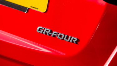 2020 Toyota GR Yaris Red - badge