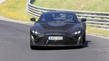 Aston Martin Vantage mule – 3