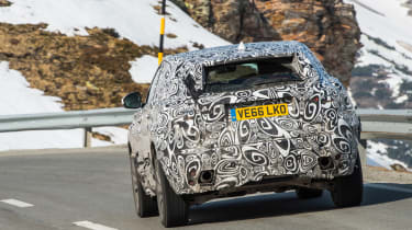 Jag E-Pace spy in france 2
