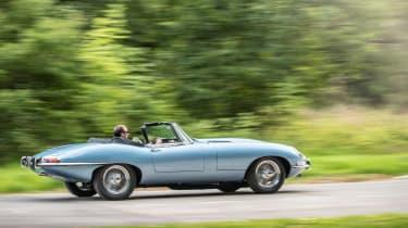 Jaguar E-type Zero rear