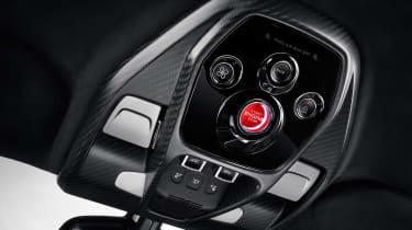 McLaren Senna - interior controls
