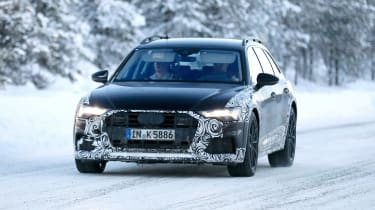 A6 Allroad 2019 spied - front