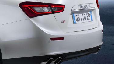 New Maserati Ghibli rear lights