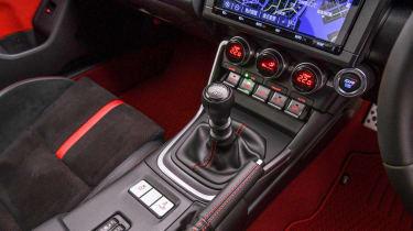 2022 Toyota GR86 - transmission