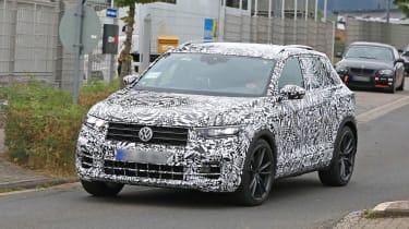 Volkswagen T-Roc R prototype - front