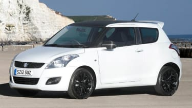 2012 Suzuki Swift Attitude front