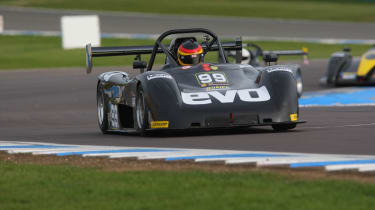 evo goes Radical racing: video and picture gallery