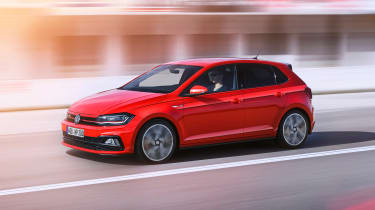 Volkswagen Polo GTI - front driving