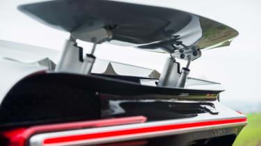 eCoty Bugatti Chiron - rear wing