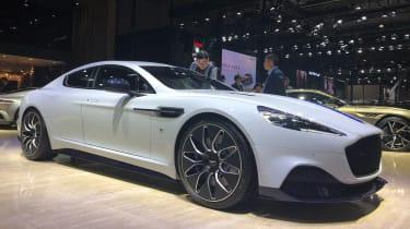 Aston Martin Rapide E live - front quarter