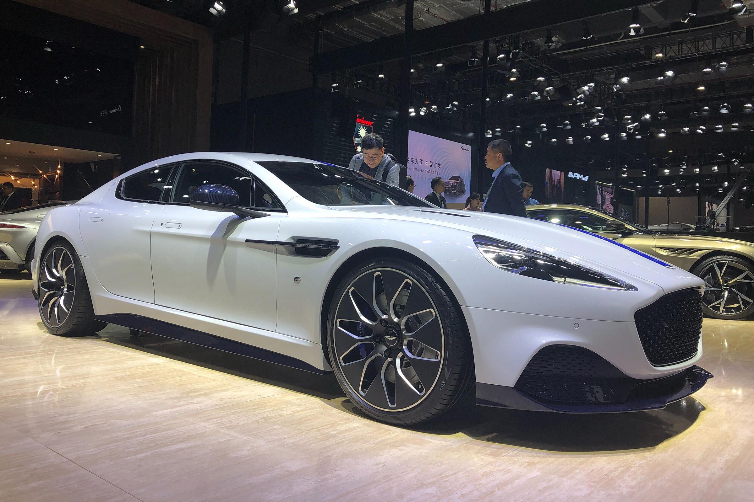 Aston Martin Rapide E Revealed In Production Specification Evo