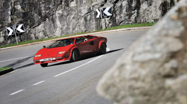 Lamborghini Countach drift