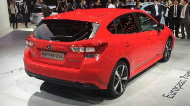 Subaru Impreza Hatch live - rear