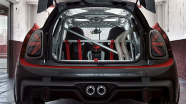 Mini John Cooper Works GP Concept - tail gate