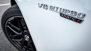 Mercedes S-class - badge