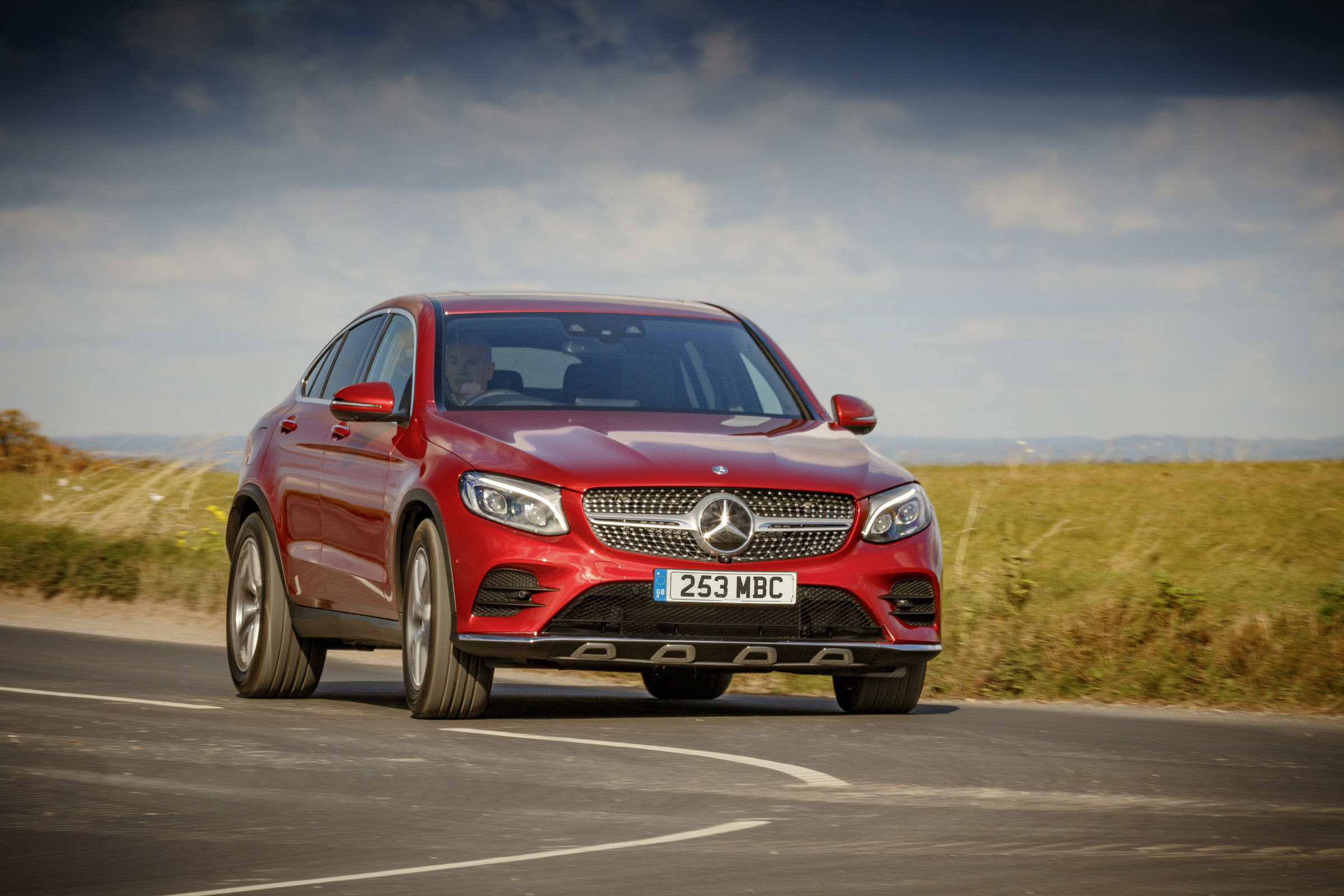 Mercedes-Benz GLC Coupe review - prices, specs and 0-60 time