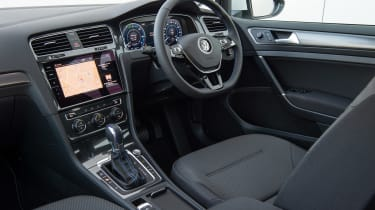 Volkswagen e-Golf - interior