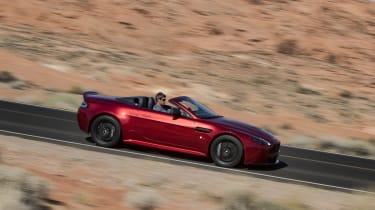 Aston Martin V12 Vantage S Roadster side profile