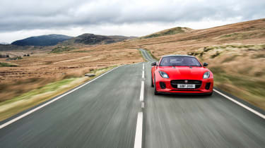 Jaguar F-Type four-cylinder - front tracking