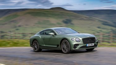 Bentley Continental GT review – green front