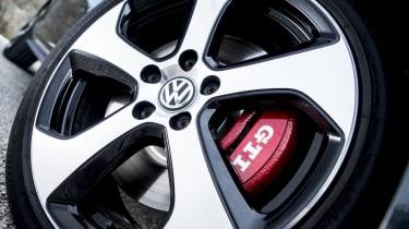 2013 mk7 VW Golf GTI alloy wheel
