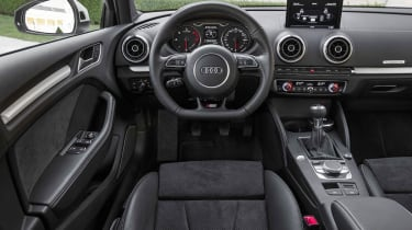 2013 Audi A3 Saloon interior dashboard steering wheel