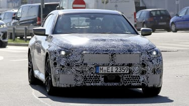 2021 BMW 2-series spy – front tracking