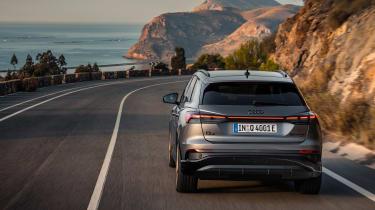 Audi Q4 e-tron Sportback – rear