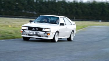 Audi Quattro - turning