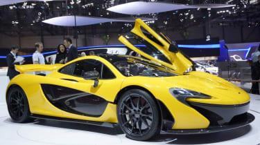 McLaren P1 Geneva motor show pictures and video