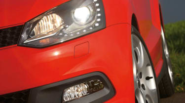 VW Polo GTI detail