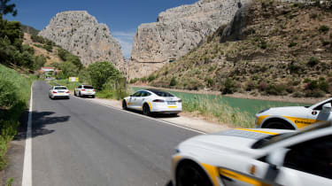 Continental driving experience