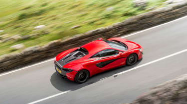McLaren 12C - above