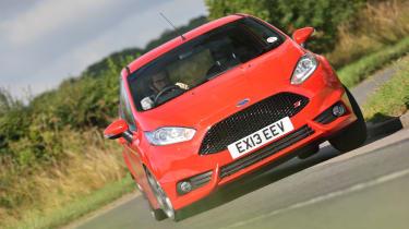 Ford Fiesta ST Mountune cornering