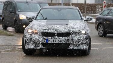 G20 BMW 3-series spy - turning