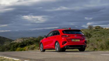 Kia Ceed GT review - rear
