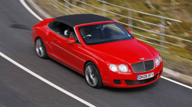 Bentley GTC Speed