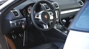2013 Porsche Cayman S leather interior dashboard