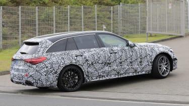 2022 Mercedes-AMG C63 S Estate – rear side
